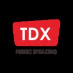 TDX Public Speaking Logo